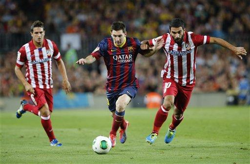 Lionel Messi, Koke Resurreccion, Arda Turan