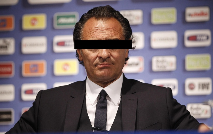 UEFA EURO 2012: ITALY NATIONAL TEAM; CESARE PRANDELLI PRESS CONFERENCE